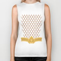 aquaman Biker Tanks featuring I Am Aquaman by Alex Boatman