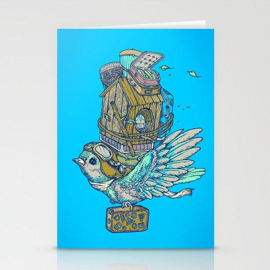 Bird Migration Stationery Cards