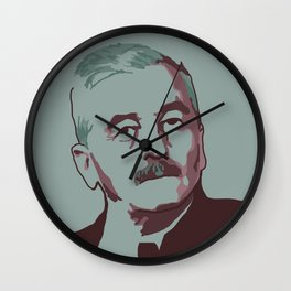 William Faulkner Wall Clock