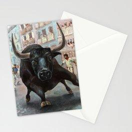 The Last Encierro Stationery Cards