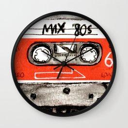mixtape 80s Wall Clock