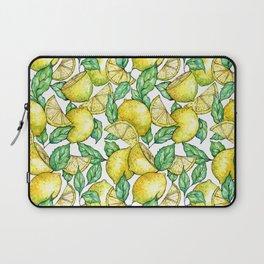 Summer Love - lemon pattern Laptop Sleeve