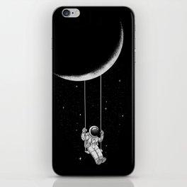 Moon Swing iPhone Skin