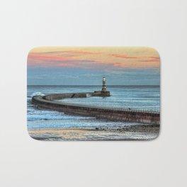 Roker Pier and Lighthouse Bath Mat