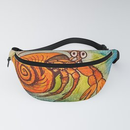 Hermit Crab Shuffle  Fanny Pack