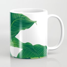 Green Leafs (Color) Coffee Mug