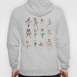 Animal Square Dance Hipster Ballerinas Hoody