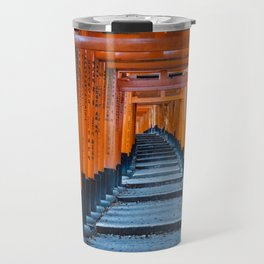 Fushimi Inari-taisha in Kyoto, Japan Travel Mug