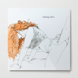 NUDEGRAFIA - 46 Metal Print