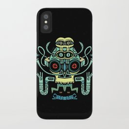 The smoking Chaman iPhone Case