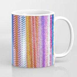 Colorful tinsel Christmas Coffee Mug