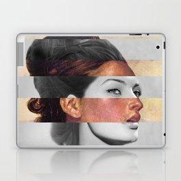 Delacroix's Orphan Girl at the Cemetery & Sophia Loren Laptop & iPad Skin