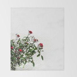 Rambling Roses Throw Blanket