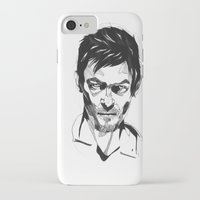 daryl iPhone & iPod Cases featuring Daryl by Giorgia Ruggeri