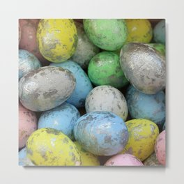 Easter Egg Hunt Metal Print