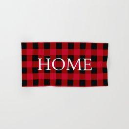 Home Red Buffalo Check Hand & Bath Towel