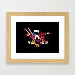 Choose your Sushi! Framed Art Print