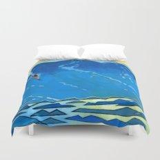 Big Wave Duvet Cover
