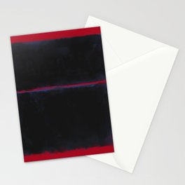 Rothko Inspired #6 Stationery Cards