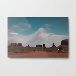 In The Valley of Earth and Wind Metal Print