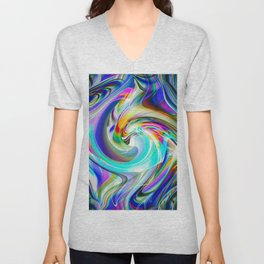 Abstract Perfection 31 Unisex V-Neck