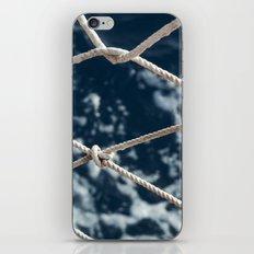 Nautical rope iPhone & iPod Skin
