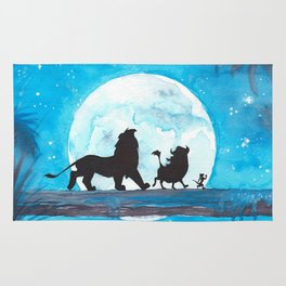 The Lion King Stencil Rug
