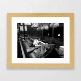 Bunnies and Guns Framed Art Print
