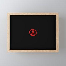 Symbol of anarchy 4 Framed Mini Art Print