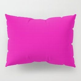 RHODAMINE RED solid color Pillow Sham