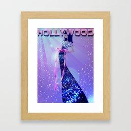 Hooray For Hollywood! Framed Art Print