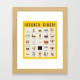 Brunch BINGO Framed Art Print