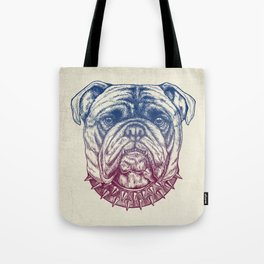 Gritty Bulldog Tote Bag