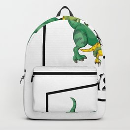 Dad Dinosaur Daddyasaur T-Rex Fathers Day Gift Backpack