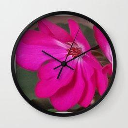 Just Bloom Wall Clock