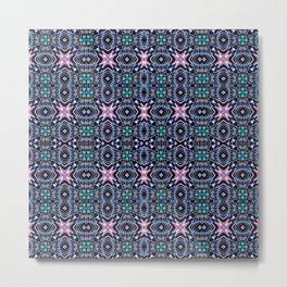 Geometric Pattern 2 Metal Print