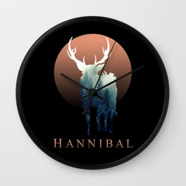 Hannibal - Forest Ravenstag Wall Clock