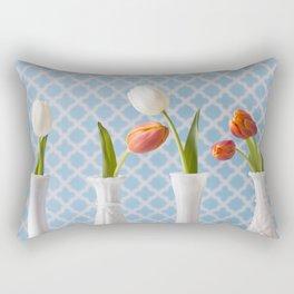 Spring Line Up - Tulips Rectangular Pillow