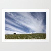 nuvole Art Print