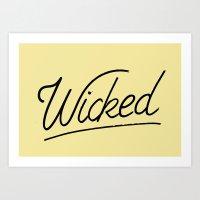 Wicked Art Print