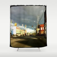 broadway Shower Curtains featuring Broadway In The Now... by PHTP Studio