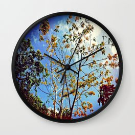 Keep Loving Wall Clock
