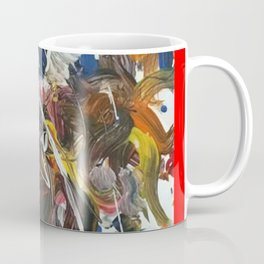 Rainbow meaning of life modern paintings by Christian T. Coffee Mug