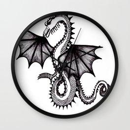 dragon city Wall Clock