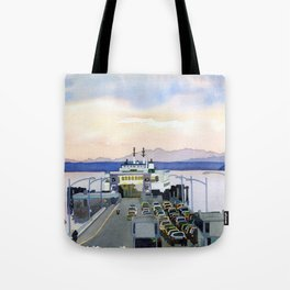 Ferry Line Tote Bag
