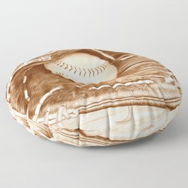 Softball Floor Pillow