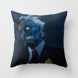 DENTED Throw Pillow