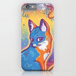 Magical Gray Fox iPhone Case