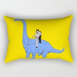 Dinosaur B Rectangular Pillow