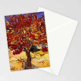 Vincent Van Gogh Mulberry Tree Stationery Cards